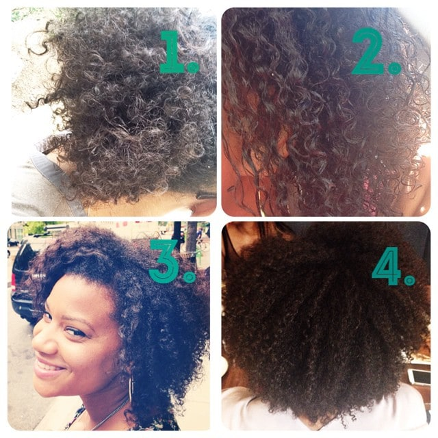 Happy Saturday beauties! Finally done with my wash and go challenge. Overall #1 & #4 were the best with defining my curls. Wash and Gos aren't my favorite but I had fun learning about my curls.  The products I used are below. Enjoy! 1. Ouidad Moisture Lock Leave in Conditioner & Paul Mitchell The Conditioner2. Pantene Pro-V Defining Curls Style Custard3. Shea Moisture Curl Enhancing Smoothie 4. Love Lotta Body Wrap Me Foaming Mousse