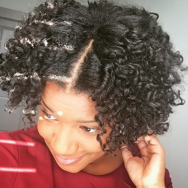 When the natural light hits your braidout just right!  Water, @Giovannicosmetics Direct Leave In and @bellebutters is to thank for this awesomeness today.