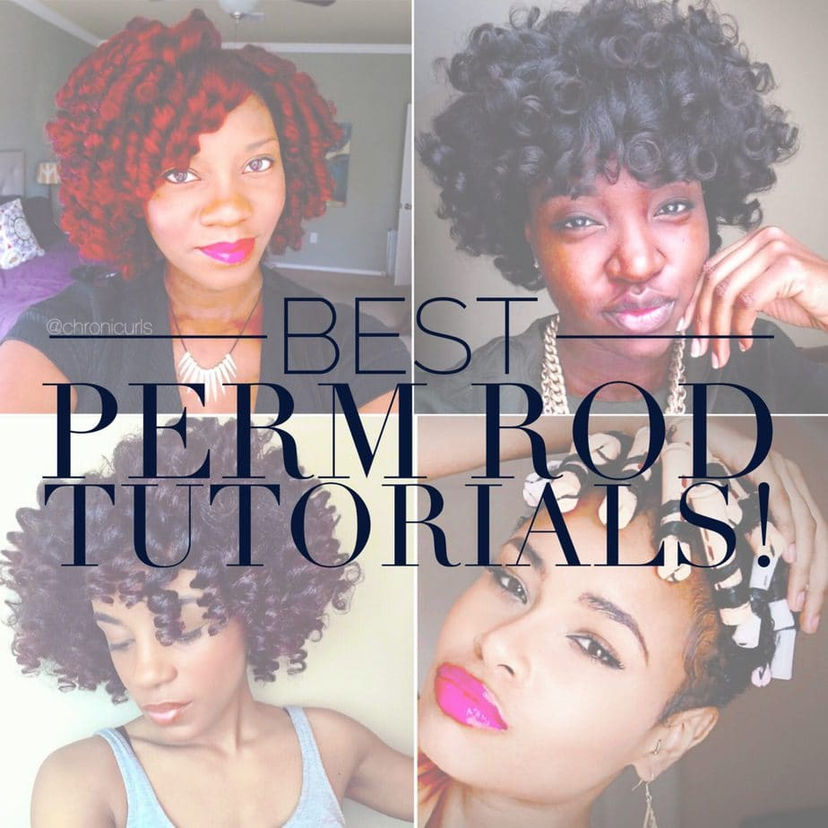 Best Perm Rods Tutorials on Natural Hair