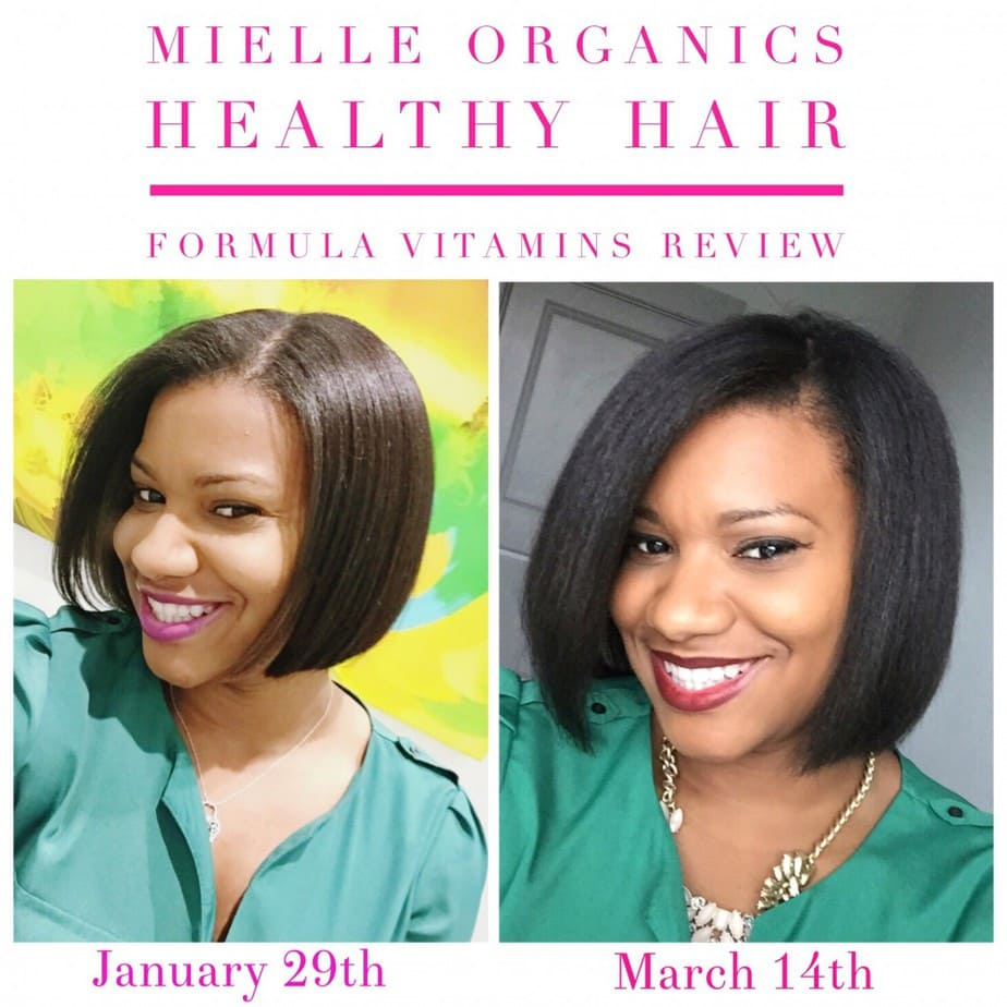 Mielle Organics Review: Advanced Healthy Hair Formula Vitamins