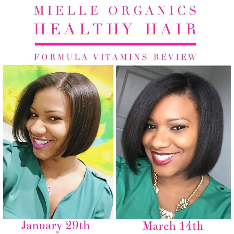 Mielle Organics Review: Advanced Healthy Hair Formula Vitamins