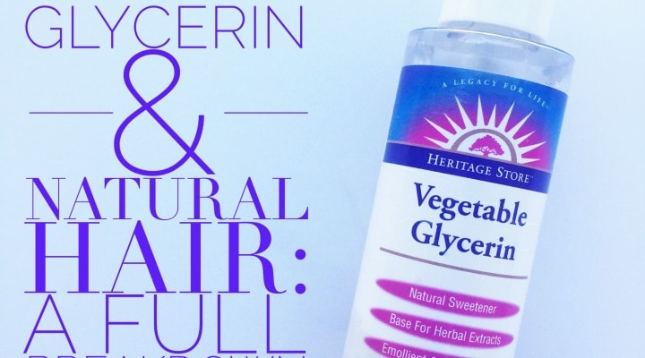 Hair Glycerin Natural Substitute
