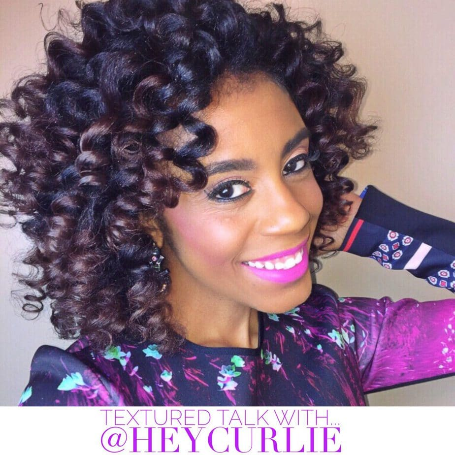 Textured Talk With… @Heycurlie