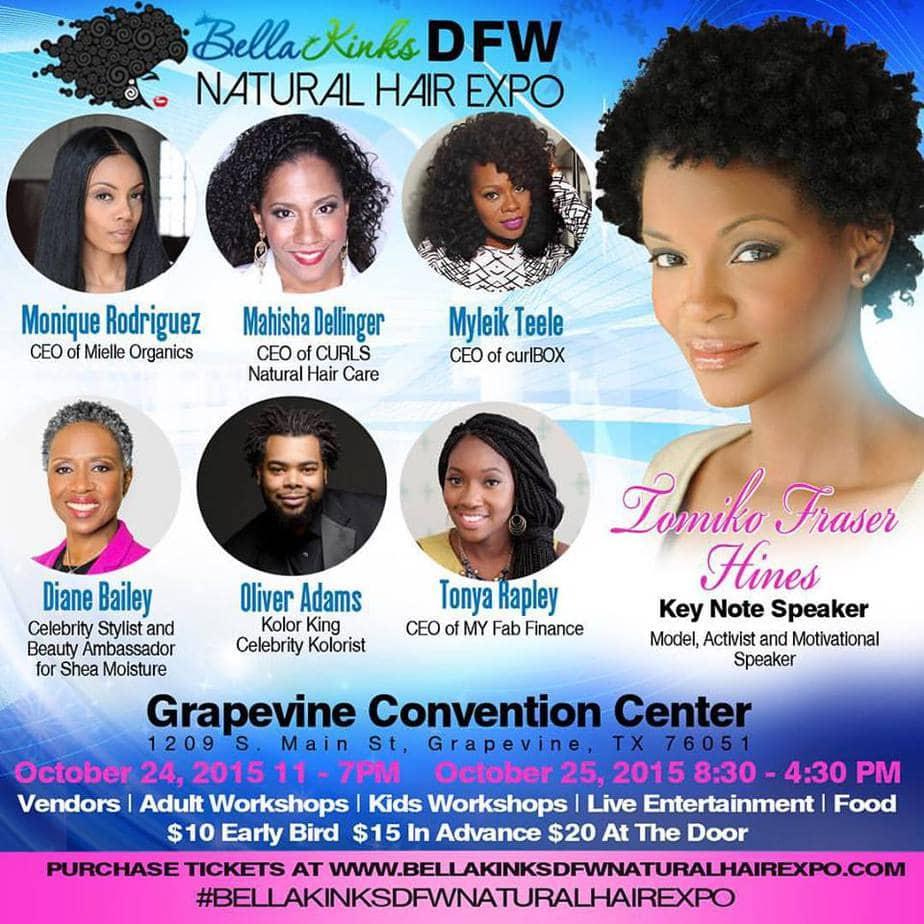 Bella Kinks DFW Natural Hair Expo