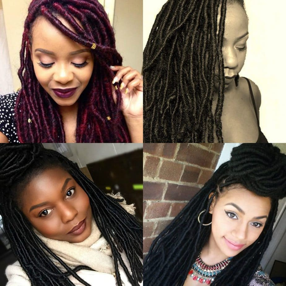 faux locs tutorial - the ultimate list