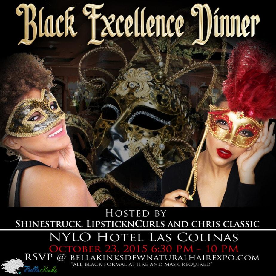 Bella Kinks Black Excellence Dinner