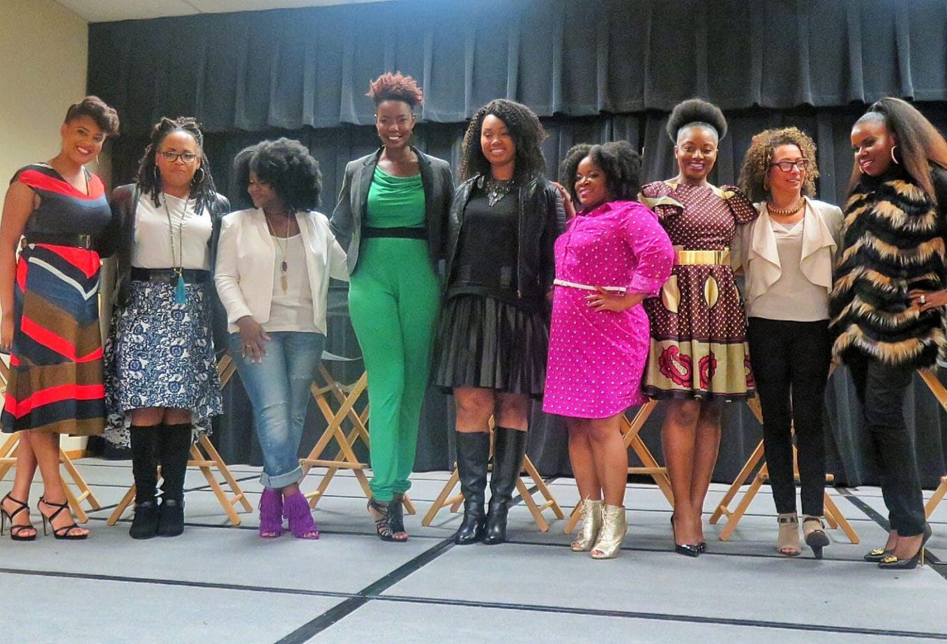 Bella Kinks DFW Natural Hair Expo Periscope Recap: Myleik Teele & POWER Panel Discussion