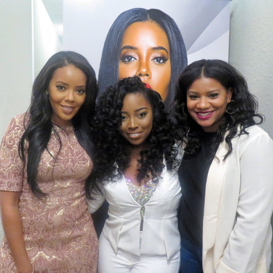 Angela Simmons Talks Hair & Her New SEA Collection With ...