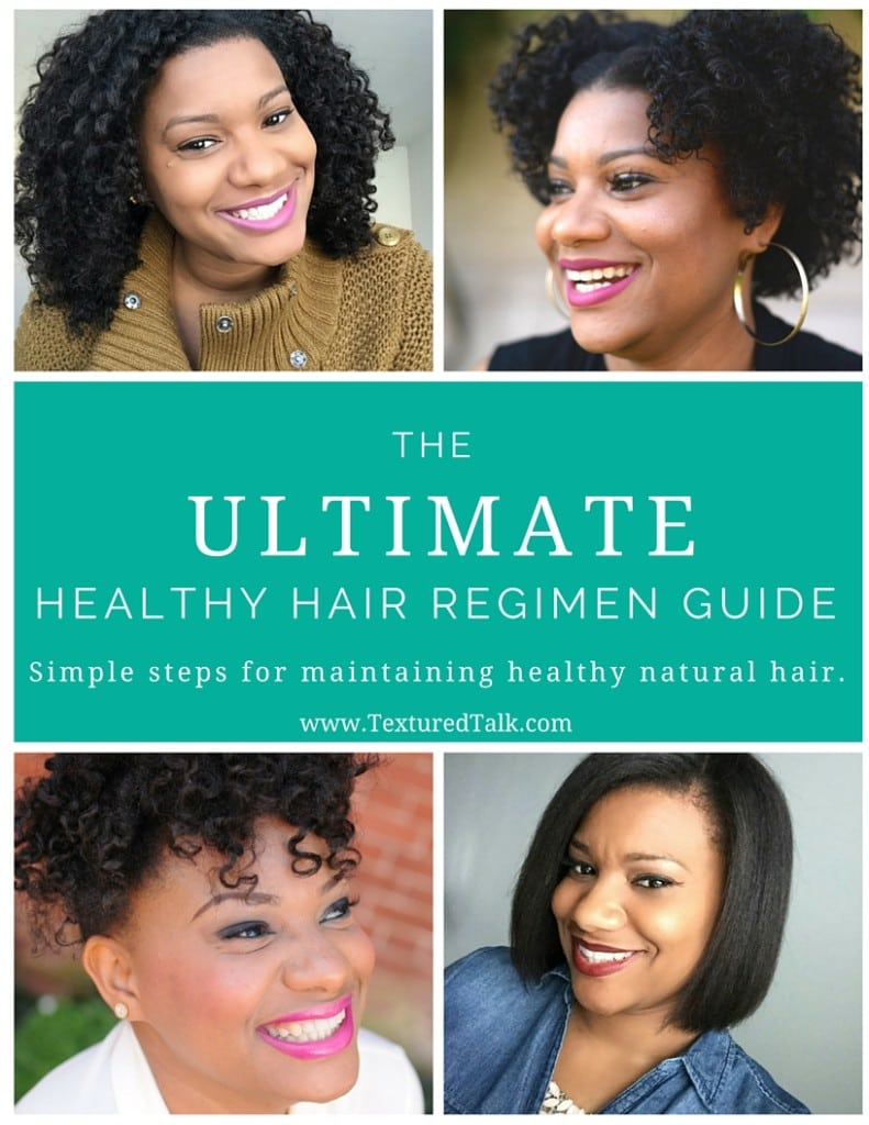 Cover - The Ultimate Health Hair Regimen Guide