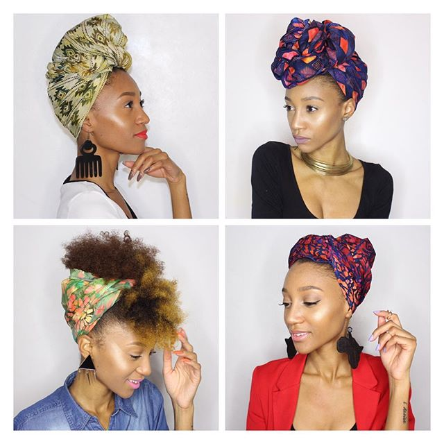 10 Ways To Wear A Head Wrap This Season Textured Talk