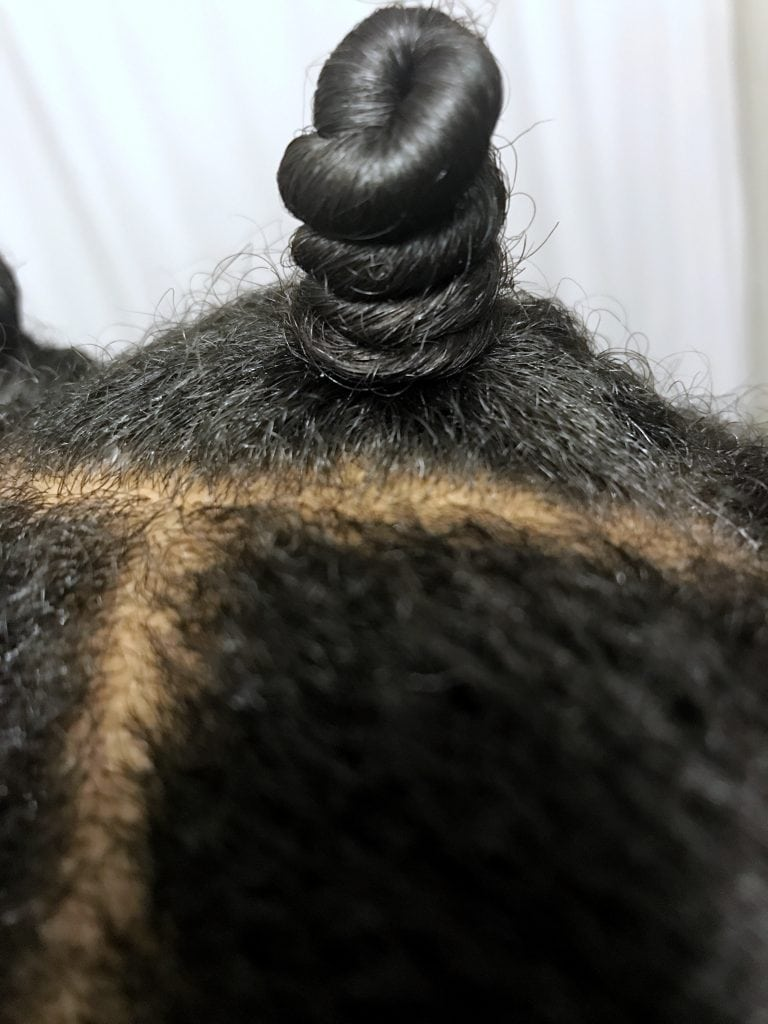The Best Bantu Knot Out Tutorial Ever Textured Talk