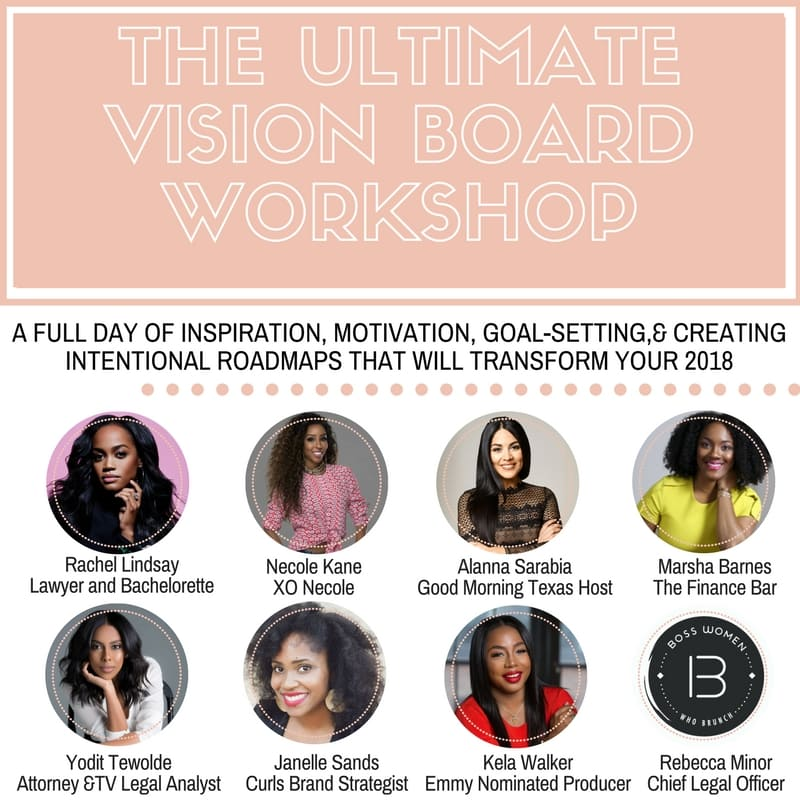 How To Slay Your 2018 Vision Board: The Ultimate Vision Board Workshop