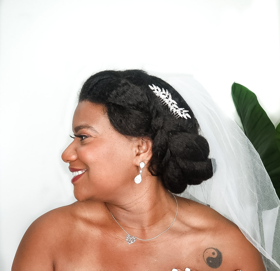 Curly Hair Wedding Diy: 3 Easy DIY Natural Bridal Hairstyles Anyone Can Do