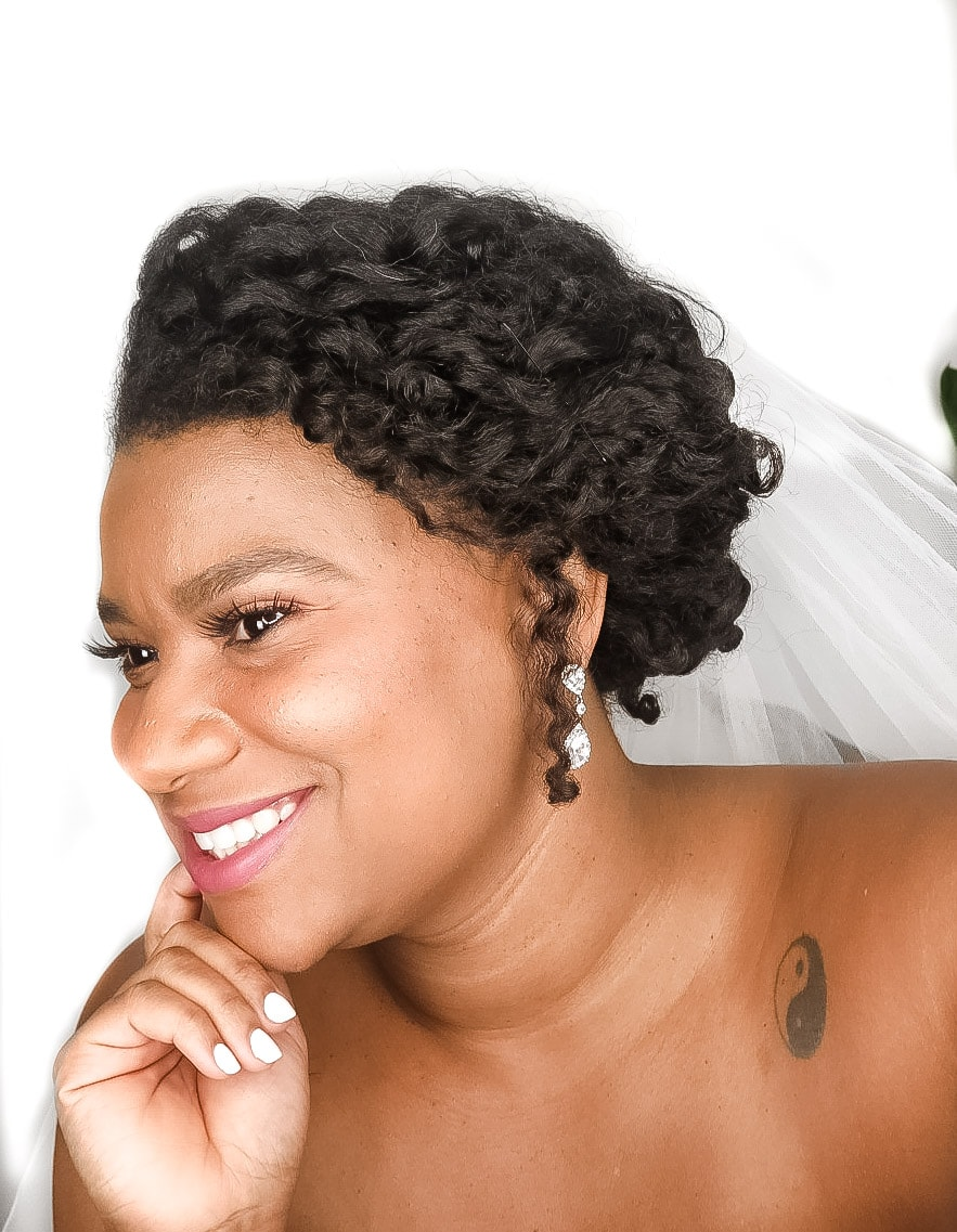 3 Easy Diy Natural Bridal Hairstyles Anyone Can Do