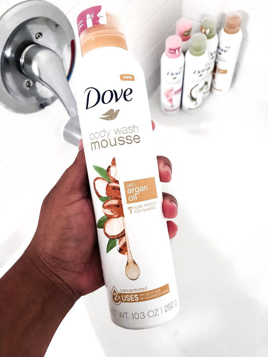 Self Care Saturday With Dove Body Wash Mousse Textured Talk