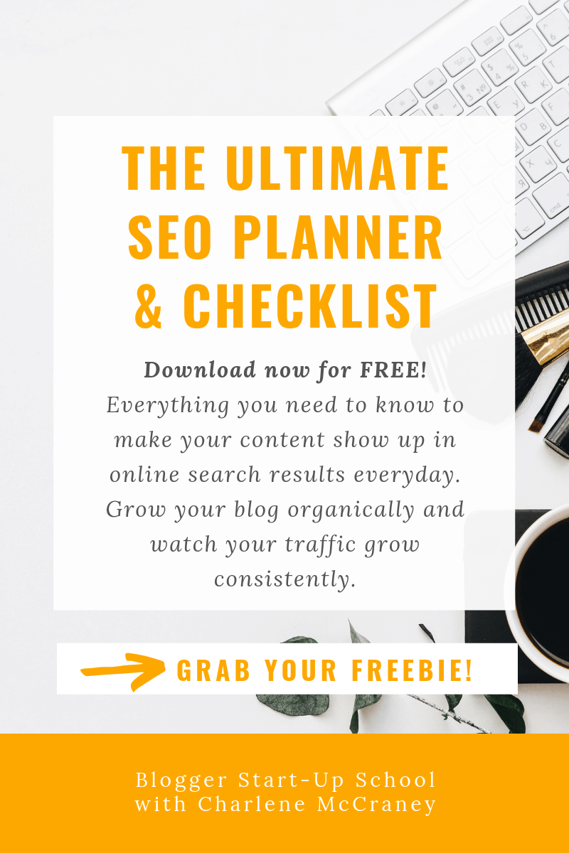 The Ultimate SEO Planner and Checklist for blogging