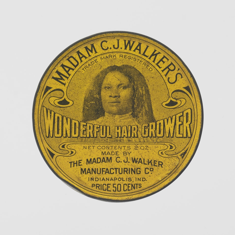 Madam CJ Walker Wonderful Hair Grower